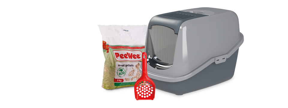 PeeWee-Katzenklo-System
